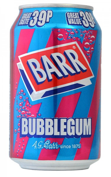Barr Bubblegum Limonade 330ml
