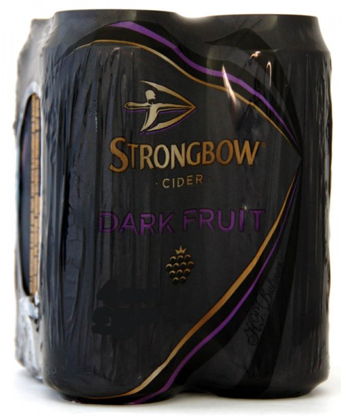 Strongbow Cider Dark Fruit 4 x 440ml