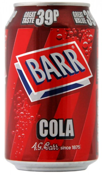 Barr Cola 330ml Dose