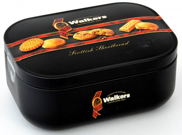 Walkers Shortbread Assortment Tin 130g