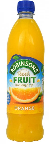 Robinsons Orange No Added Sugar NAS
