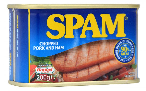 Hormel Spam Chopped Pork & Ham 200g