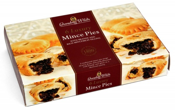 Grandma Wilds 6 Luxury Mince Pies 360g