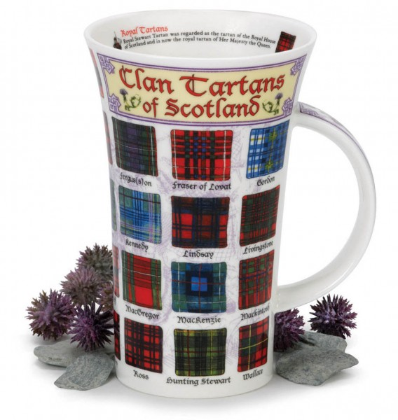 Dunoon Glencoe Clan Tartans of Scotland