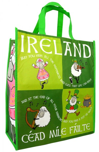 Irish Sheep Shopping Bag