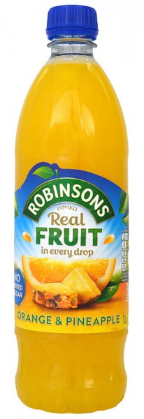 Robinsons Orange & Pineapple No Added Sugar NAS