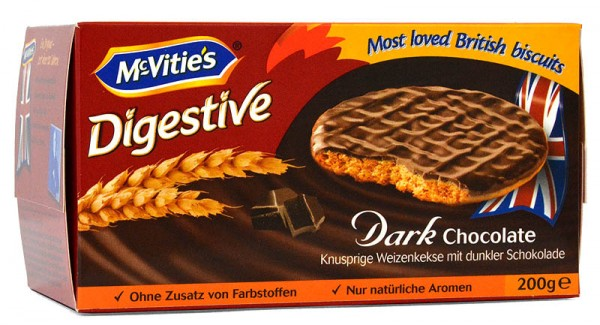 McVities Digestives Dark Chocolate 200g
