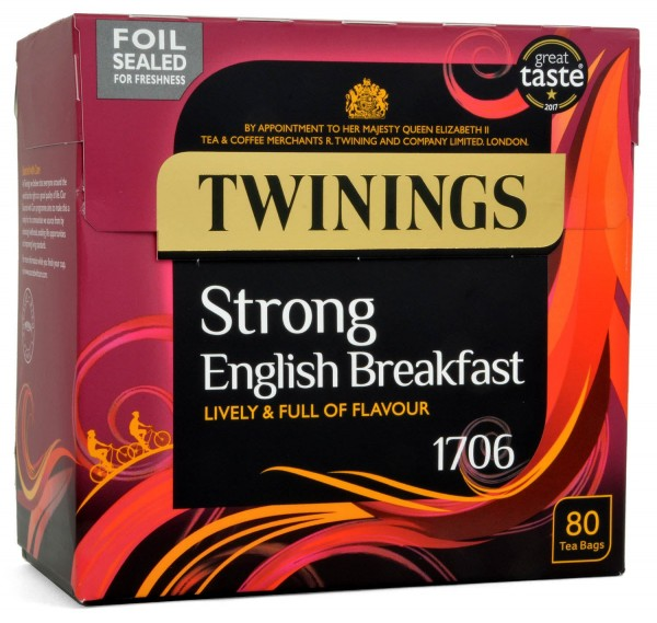 Twinings Strong English Breakfast 80 Bags 250g