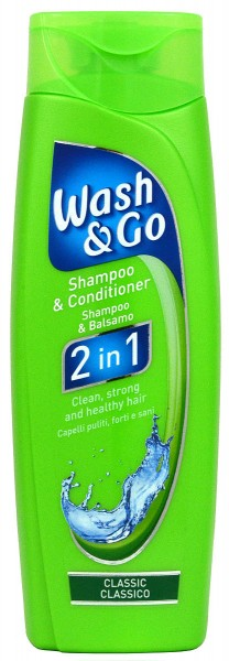 Wash & Go 2in1 Classic Care Shampoo & Conditioner