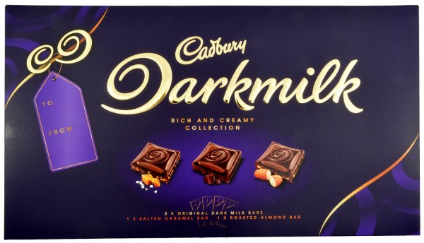 Cadbury Darkmilk Collection Box 4 x 85g