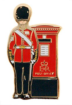 Guardsman with Post Box Pin