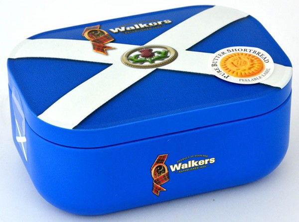 Walkers Shortbread Scotland Saltire Tin 136g