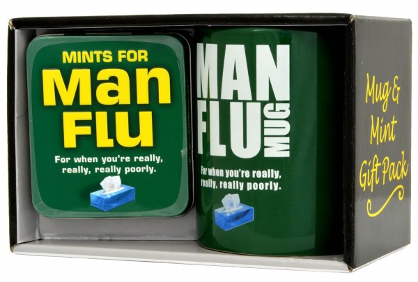 Man Flu Mug & Mints 45g