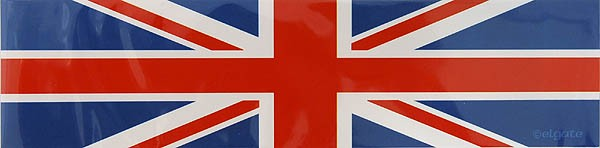 Sticker Union Jack 20 x 5 cm