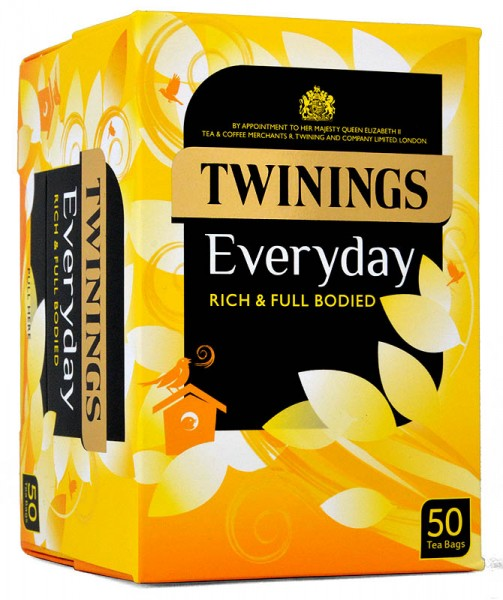 Twinings Everyday Tea 50 Beutel - 145g
