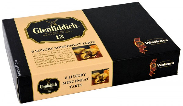 Walkers Glenfiddich Mince Pies 372g
