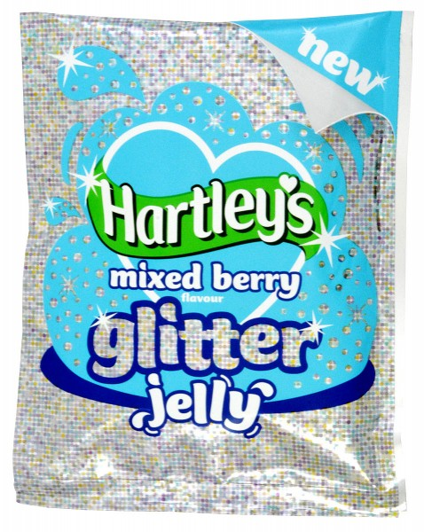Hartleys Mixed Berry Flavour Glitter Jelly 100g