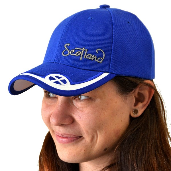 Scotland Metallic Front Baseball Cap