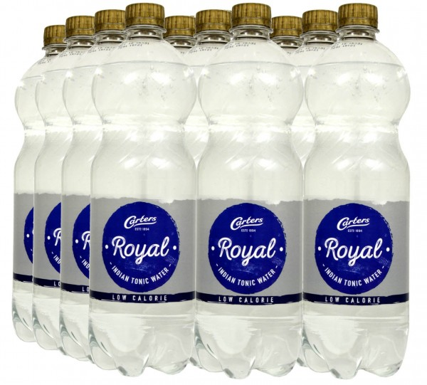 Carters Royal Indian Tonic Water Low Calorie 1 Liter - 12x