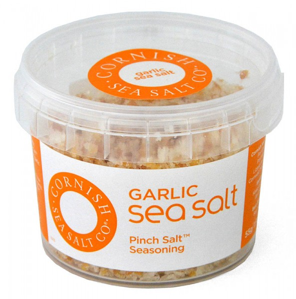 Cornish Sea Salt Garlic Pinch Salt 55g