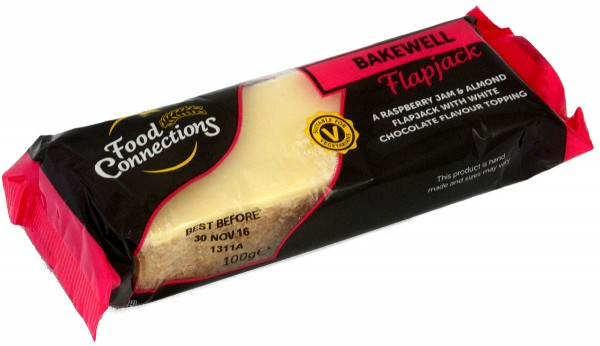 Food Connection Bakewell Flapjack