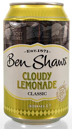 Ben Shaws Cloudy Lemonade 330 ml Limonade
