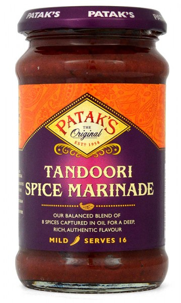Pataks Tandoori Spice Marinade Curry Paste 312g