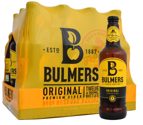 bulmers original cider flasche pack 12 x 500ml michelles specialities. Black Bedroom Furniture Sets. Home Design Ideas