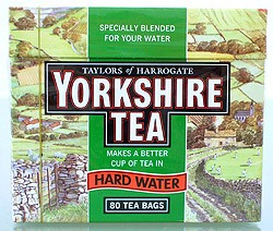 Yorkshire Tea 80 Beutel - 250 g Hard Water