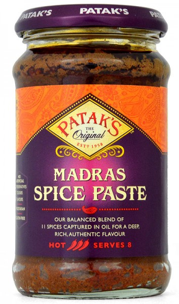 Pataks Madras Curry Spice Paste 283g