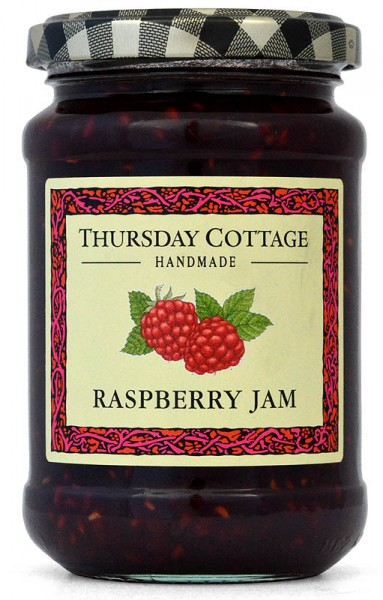 Thursday Cottage Raspberry Jam 340g - Himbeere