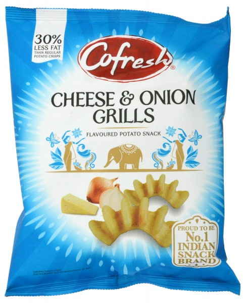 Cofresh Cheese & Onion Grills 80g