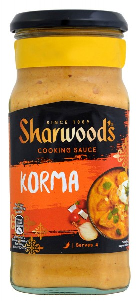 Sharwoods Korma Cooking Sauce