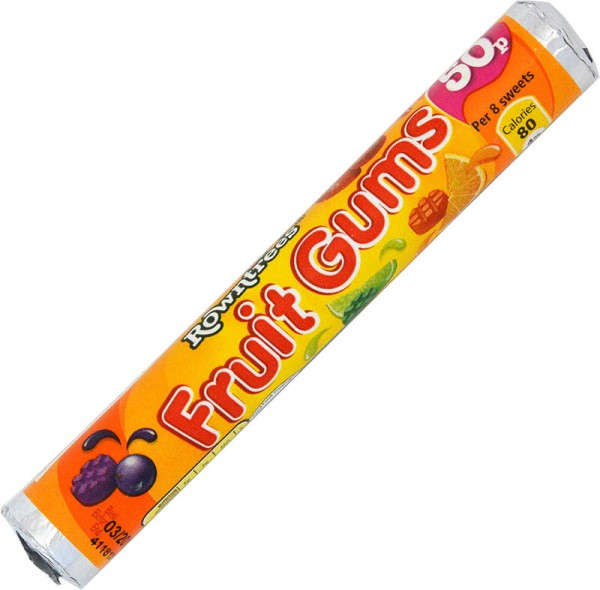 Rowntrees Fruit Gums Tube