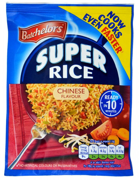 Batchelors Savoury Super Rice Chinese Flavour
