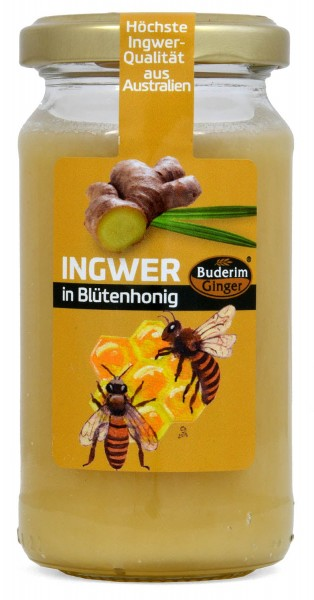 Buderim Original Ginger in Blossom Honey