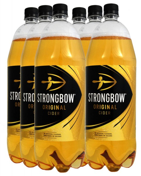 Strongbow Cider Original, 6er-Pack 6 x 2 l