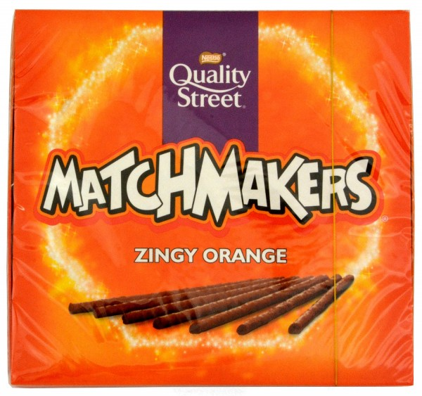 Quality Street Matchmakers Zingy Orange 120g