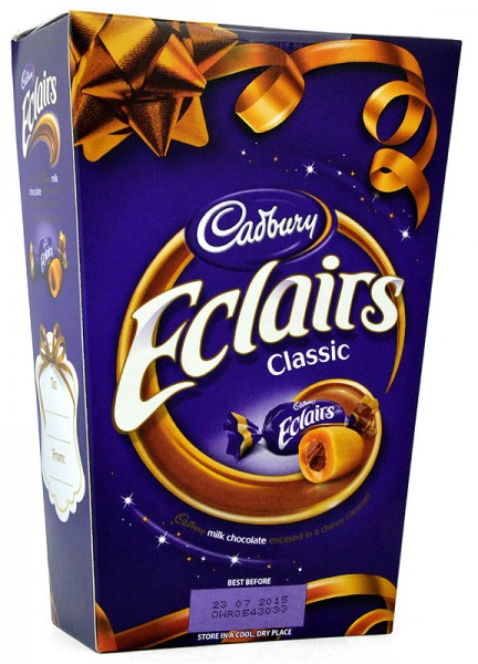 Cadbury Chocolate Eclairs Box 420g