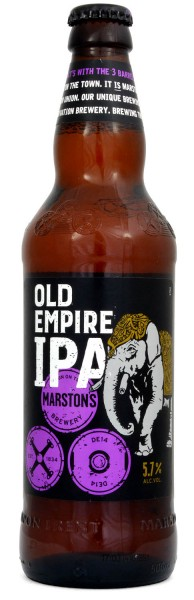 Marstons Old Empire India Pale Ale 500ml Bier