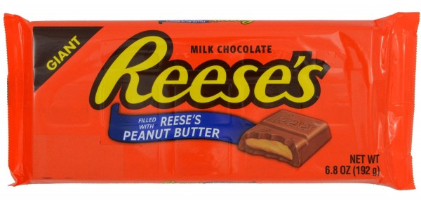 Reeses Peanut Butter Filled Milk Chocolate 192g