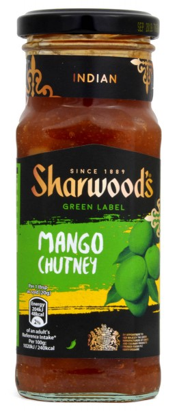 Sharwoods Green Label Mango Chutney 360g