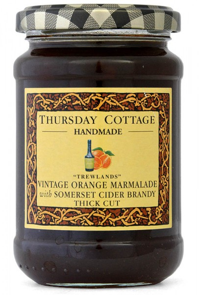 Thursday Cottage Vintage Orange Marmalade w/Somerset Cider Brandy 340g