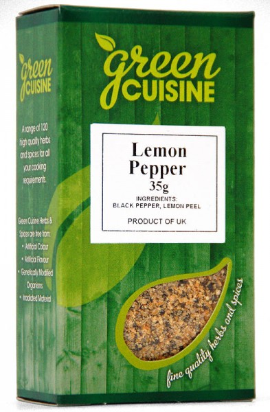 Green Cuisine Lemon Pepper 35g