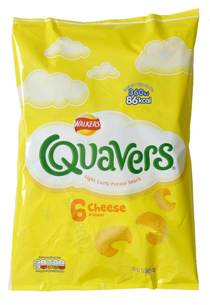 Walkers Quavers Cheese 6-pack