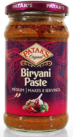 Pataks Biryani Curry Paste 283g