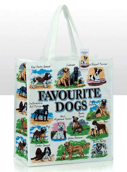 Favourite Dogs Shopping Bag
