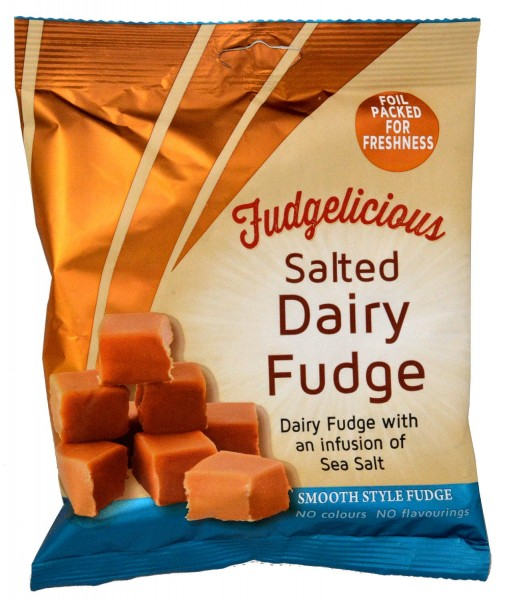 Fudgelicious Salted Caramel Fudge 220g
