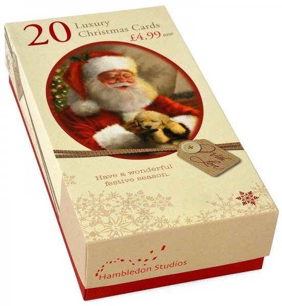 20 Luxury Christmas Cards Santa