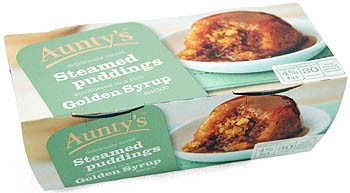 Aunty´s Golden Syrup Sauce Steamed Puddings - Dessert-Kuchen